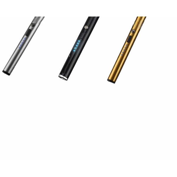 ローランド ライター ブラック 電子ライター 点火用ライター プラズマ USB充電式 電気 防風 おしゃれ 軽量 薄型 アウトドア RORAND|nexts|07