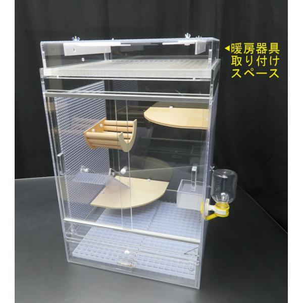 フクロモモンガケージ50 平面フタ 冬セットFver. 備品付 スペシャルセット