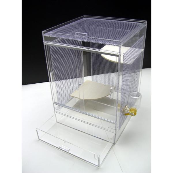 フクロモモンガケージ3面パンチング35×35×50