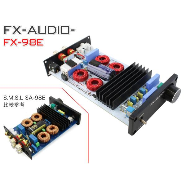 FX-AUDIO- FX-98E 『シルバー』 TDA7498EデジタルアンプIC搭載 160Wハイパワーデジタルアンプ|nfj|04