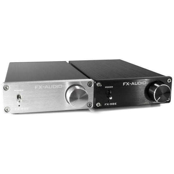 FX-AUDIO- FX-98E 『シルバー』 TDA7498EデジタルアンプIC搭載 160Wハイパワーデジタルアンプ|nfj|05
