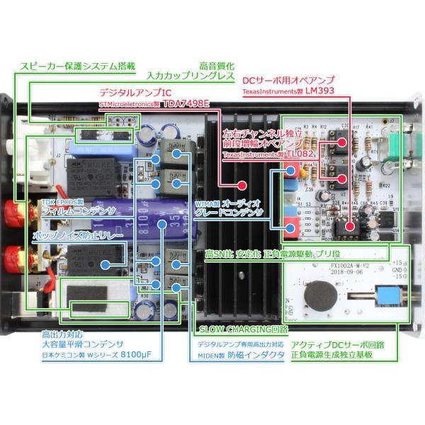 FX-AUDIO- FX1002J+[ブラック]TDA7498E搭載デジタルパワーアンプ|nfj|03