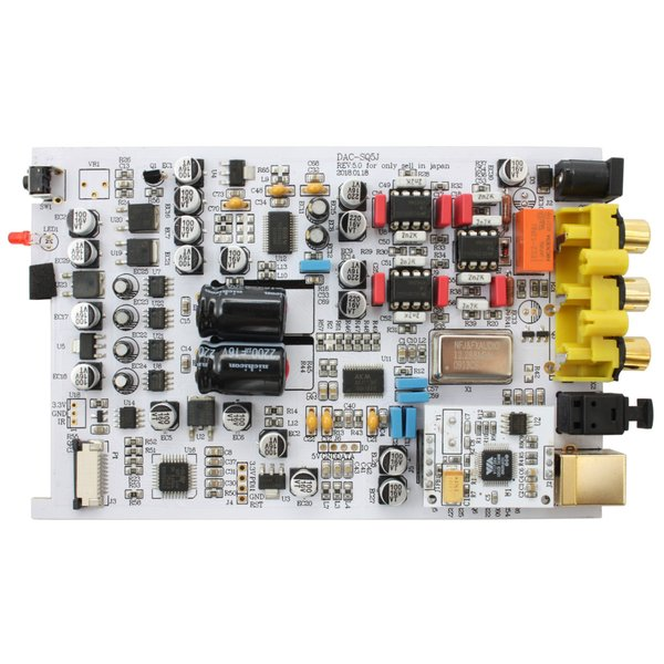 FX-AUDIO- DAC-SQ5J[ブラック] Burr-Brown PCM1794A搭載 ハイレゾDAC nfj 03