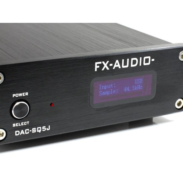 FX-AUDIO- DAC-SQ5J[ブラック] Burr-Brown PCM1794A搭載 ハイレゾDAC nfj 04