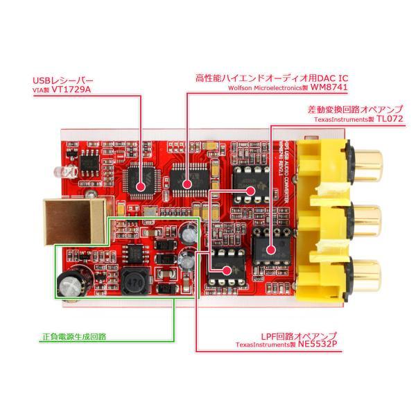 FX-AUDIO- FX-02J+ ハイエンドオーディオ用DAC WM8741搭載 バスパワー駆動ハイレゾDAC/DDC|nfj|03