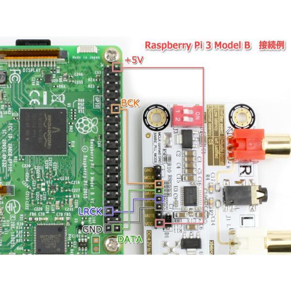 I2S [IIS] 入力DAC PCM5102A搭載32bit 384kHz DAC完成基板 Raspberry Pi 動作OK|nfj|05
