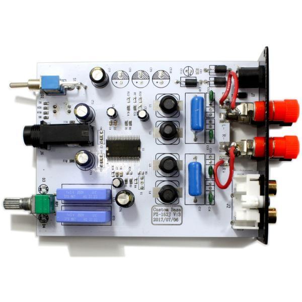 FX-AUDIO- FX152J-CB [シルバー]YDA138デジタルアンプIC搭載カスタムベースモデル|nfj|03