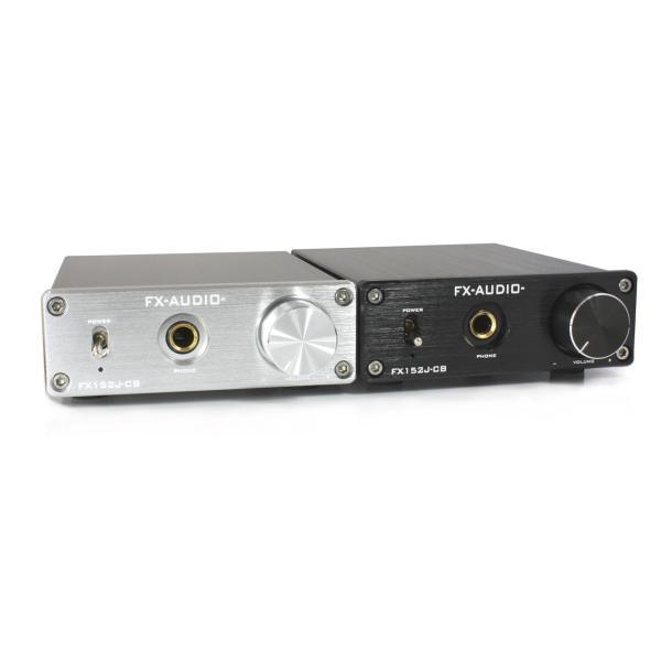 FX-AUDIO- FX152J-CB [シルバー]YDA138デジタルアンプIC搭載カスタムベースモデル nfj 05