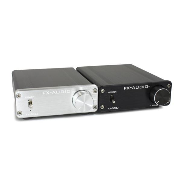 FX-AUDIO- FX-502J[ブラック] TPA3116搭載50W×2ch プリメインアンプ|nfj|04
