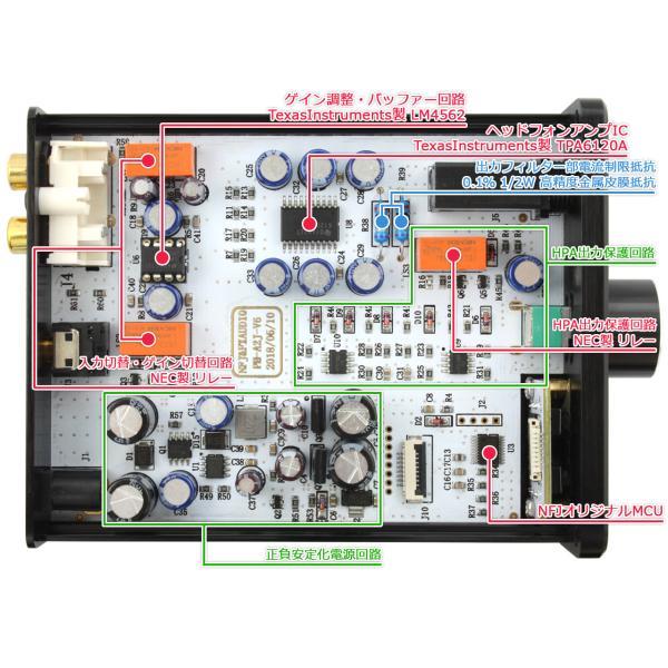 FX-AUDIO- PH-A2J[ブラック] TPA6120搭載 電流帰還型 Hi-Fiヘッドホンアンプ|nfj|03
