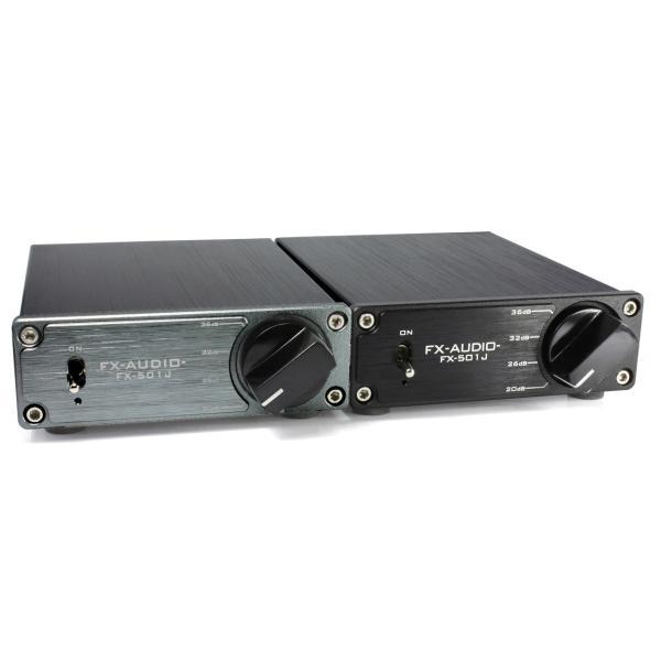FX-AUDIO- FX-501J[ブラック] TPA3118デジタルアンプIC搭載 PBTL モノラル パワーアンプ  100W×1ch ParallelBTL|nfj|04