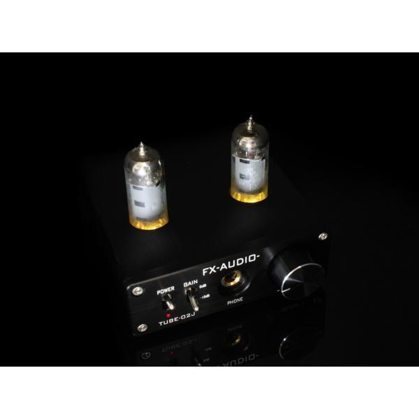 FX-AUDIO- TUBE-02J[シルバー]本格真空管ヘッドホンアンプ|nfj|05