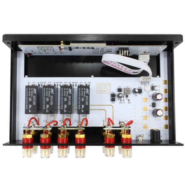 FX-AUDIO- PW-6J[Bonneville Eaters II] 電子制御式 1:2アンプ/スピーカーセレクター[リモコン付属]|nfj|03