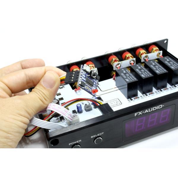 FX-AUDIO- Bonneville EatersII PW-6J 第1ロット専用プログラムアップデートモジュール [1回使い切りタイプ]|nfj|04