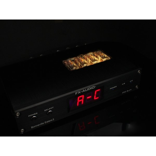 FX-AUDIO- PW-6J+[Bonneville Eaters II] 電子制御式 1:2アンプ/スピーカーセレクター[リモコン付属]|nfj|08