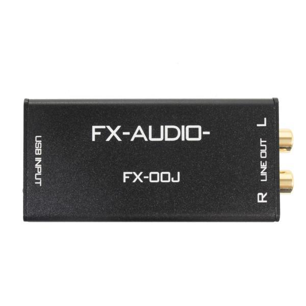 FX-AUDIO- FX-00J USBバスパワー駆動DAC ESS社製ES9023P搭載 USB接続で高音質RCA出力|nfj|03