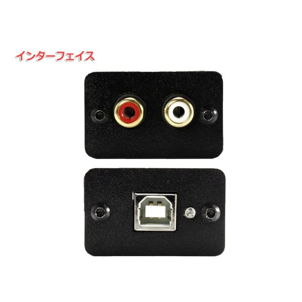 FX-AUDIO- FX-00J USBバスパワー駆動DAC ESS社製ES9023P搭載 USB接続で高音質RCA出力|nfj|04