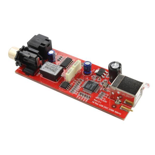 FX-AUDIO- FX-D03J USBバスパワー駆動DDC USB接続でOPTICAL・COAXIALデジタル出力を増設|nfj|05