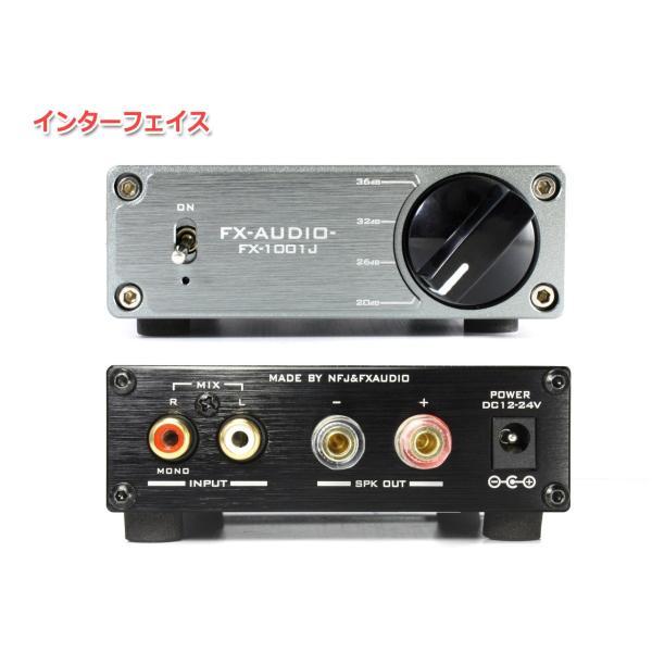 FX-AUDIO- FX-1001J[チタンブラック] TPA3116デジタルアンプIC搭載 PBTL モノラル パワーアンプ  100W×1ch ParallelBT nfj 02