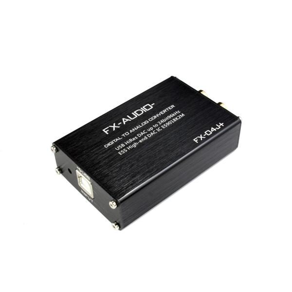 FX-AUDIO- FX-04J+ 32bitハイエンドモバイルオーディオ用DAC ES9018K2M搭載 バスパワー駆動ハイレゾ対応DAC|nfj|02