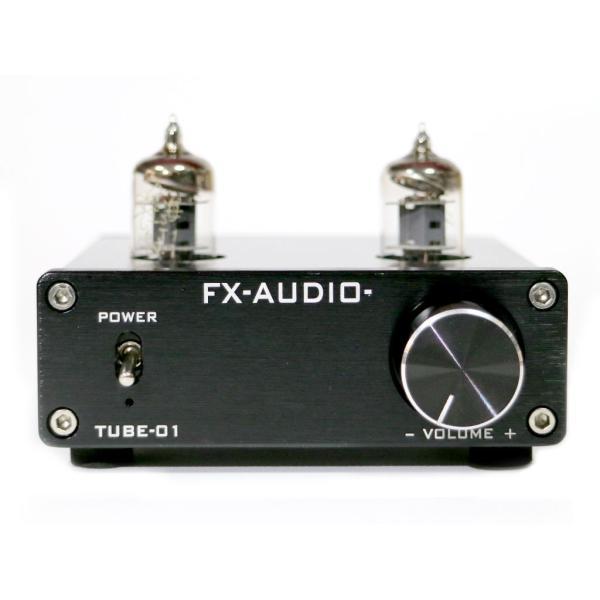 FX-AUDIO- TUBE-01『ブラック』 本格真空管ラインアンプ nfj 02