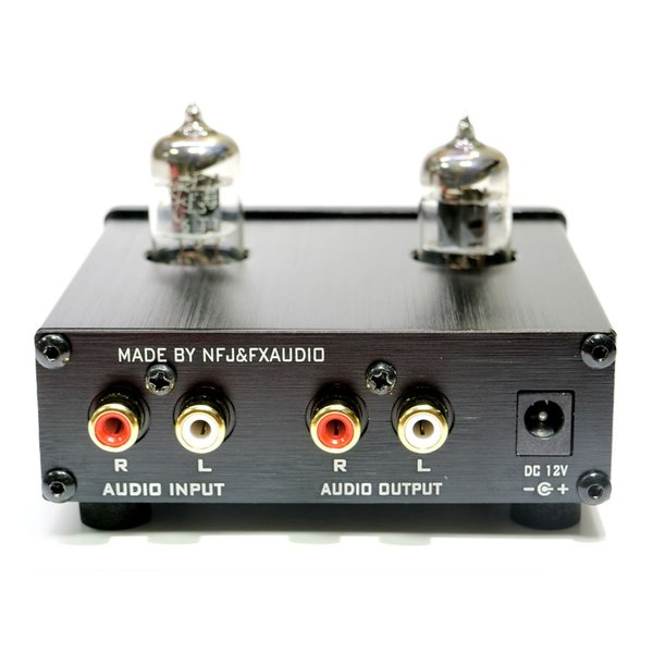 FX-AUDIO- TUBE-01『ブラック』 本格真空管ラインアンプ nfj 03