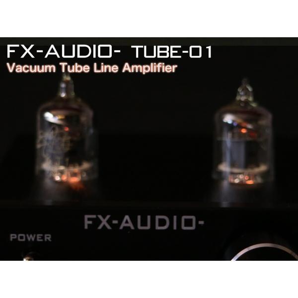 FX-AUDIO- TUBE-01『ブラック』 本格真空管ラインアンプ nfj 05
