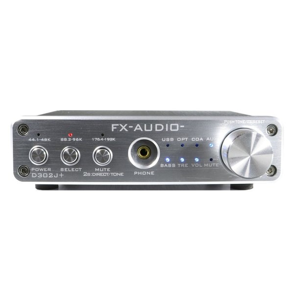 FX-AUDIO- D302J+[シルバー] ハイレゾ対応デジタルアナログ4系統入力・フルデジタルアンプ|nfj|02