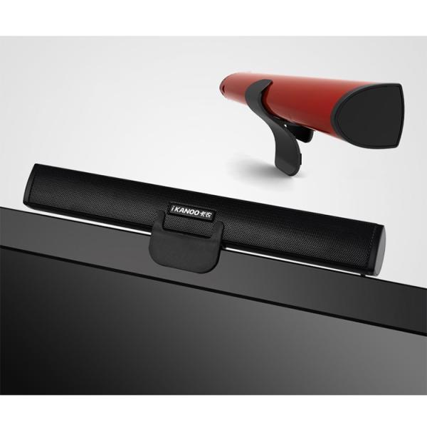 iKANOO N12 [ブラック]USB接続スピーカー サウンドバー ポータブルスピーカー 電源不要 USB DAC+アンプ内蔵スピーカー|nfj|03