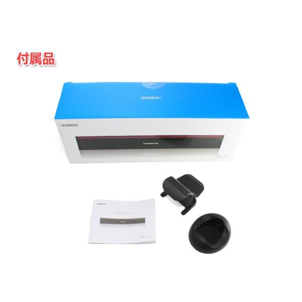 iKANOO N12 [ブラック]USB接続スピーカー サウンドバー ポータブルスピーカー 電源不要 USB DAC+アンプ内蔵スピーカー|nfj|05