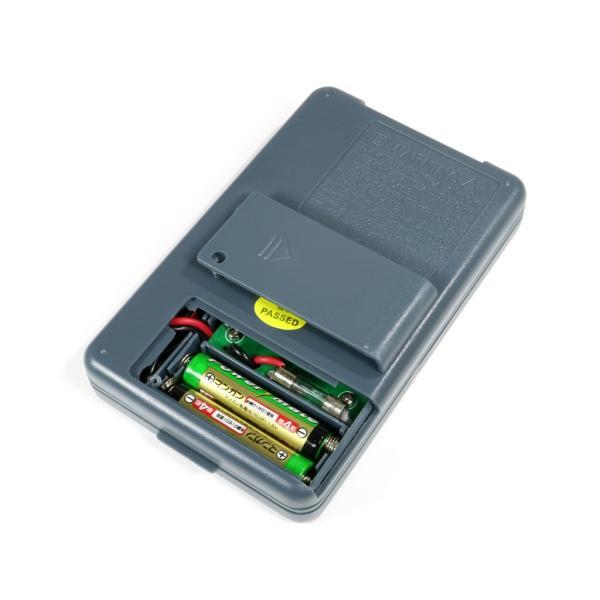 『メール便OK』オートレンジ 小型デジタルテスター XB-866(単4電池付属)|nfj|03