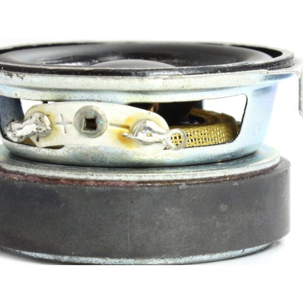 小型 フルレンジスピーカーユニット1.5インチ(39mm) 8Ω/MAX2W [スピーカー自作/DIYオーディオ]|nfj|03