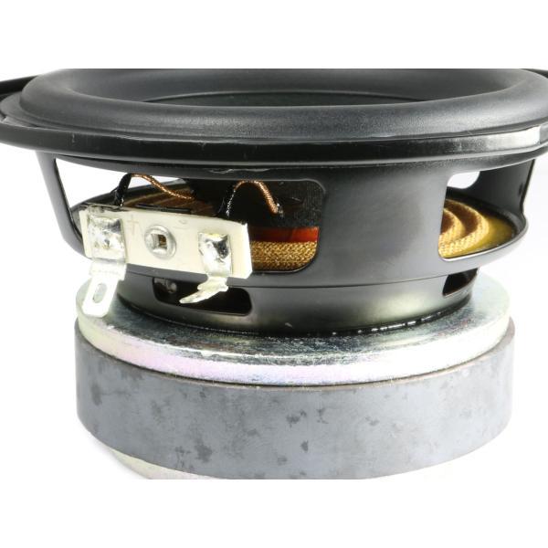 高出力・ウーハーユニット 4インチ(101.5mm) 6Ω/MAX100W [スピーカー自作/DIYオーディオ]|nfj|03