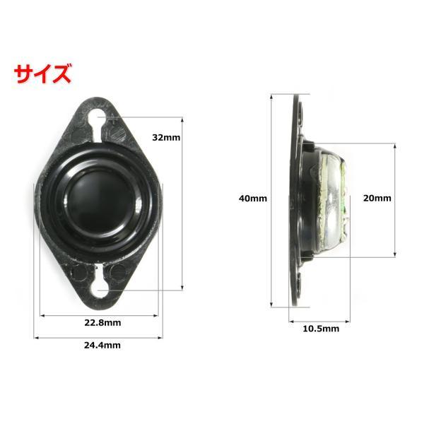 1インチ(22.8mm)ツイーターユニット 8Ω/MAX20W [スピーカー自作/DIYオーディオ]|nfj|02