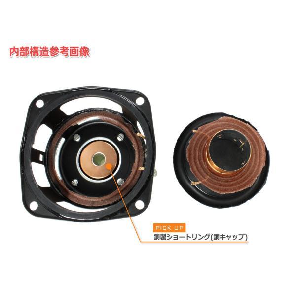 EASTEC FSB522030-3806 フルレンジスピーカーユニット3インチ(70mm) 8Ω/MAX40W [スピーカー自作/DIYオーディオ]|nfj|08