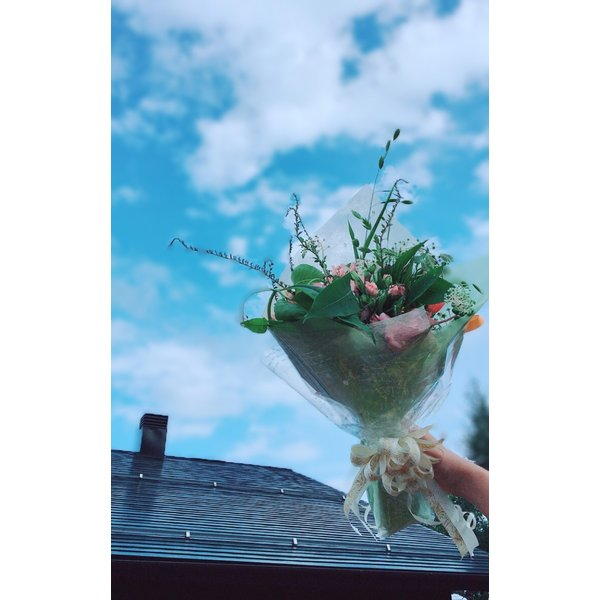 いいじま発。癒しの夢ゆり草ブーケ (Unique and fresh flowers (For a Limited Time))|niceonlineshop|03