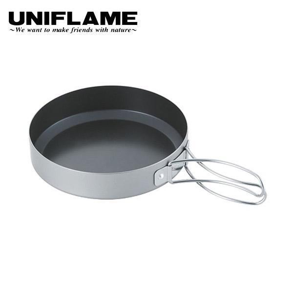 ユニフレーム 山フライパン 17cm ( 667651 ) キャンプ用品 アウトドア用品|niche-express