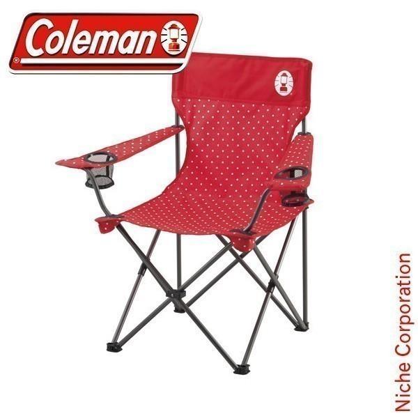 コールマン リゾートチェア (レッドドット) 2000026734 キャンプ用品|niche-express