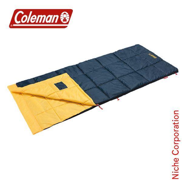 コールマン パフォーマーIII/C10 (イエロー)  2000034775 キャンプ用品 寝袋 布団 洗える 封筒型 シュラフ