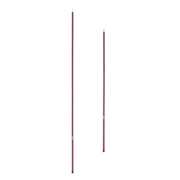 ロゴス ポール プレミアム キャノピーポール Red キャンプ テント タープ|niche-express|02