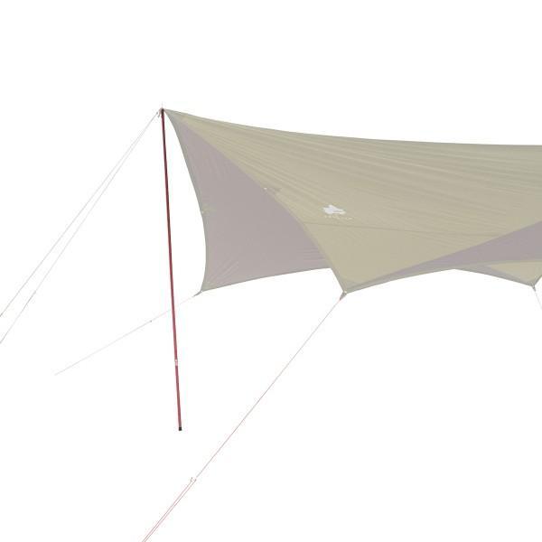 ロゴス ポール プレミアム キャノピーポール Red キャンプ テント タープ|niche-express|04