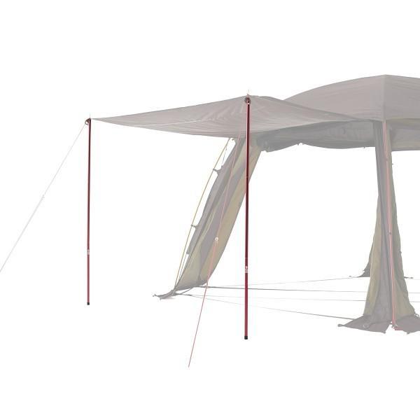 ロゴス ポール プレミアム キャノピーポール Red キャンプ テント タープ|niche-express|05