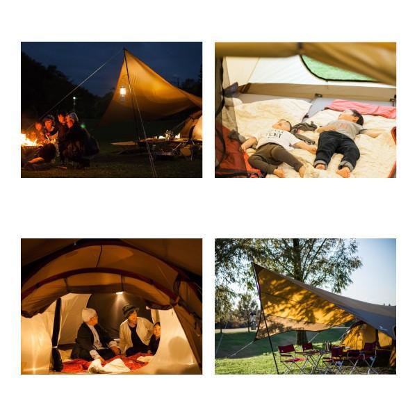 スノーピーク テント エントリーパックTT SET-250H キャンプ セット アウトドア|niche-express|05