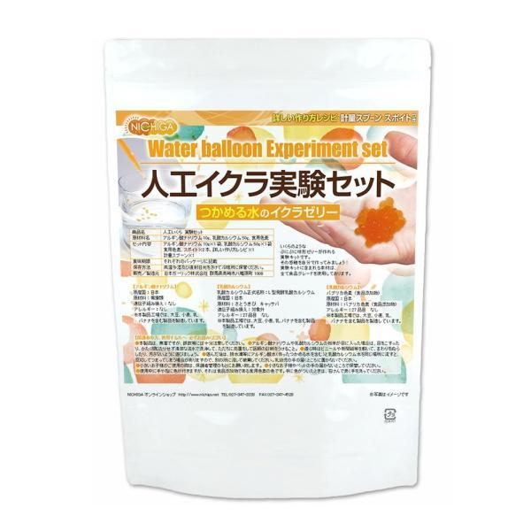 人工いくら実験セット イクラのようなぷにぷに球形ゼリーが作れる実験キット 食品用 夏休み 自由研究 [02] NICHIGA(ニチガ)