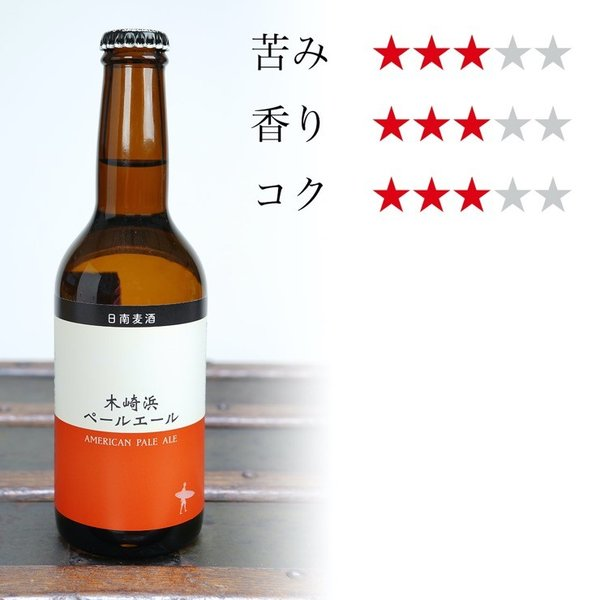 お中元に 宮崎地ビール 日南麦酒 味くらべ6本セット 受注生産 330ml|nichinan-tv|03