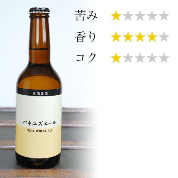 宮崎地ビール 日南麦酒 パネユズエール  330ml|nichinan-tv|03