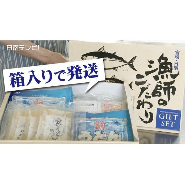 日南魚うどん ギフトセットC 5食分とおまけ付! 日南市漁協女性部|nichinan-tv|03