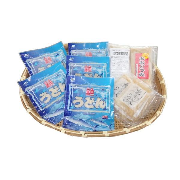 日南魚うどん ギフトセットC 5食分とおまけ付! 日南市漁協女性部|nichinan-tv|04