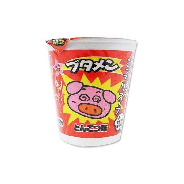 k おやつカンパニー カップ ブタメン とんこつ(30個入)駄菓子 ラーメン まとめ買い 箱買い お菓子 景品