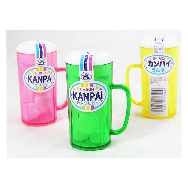 おもしろいラムネ系の駄菓子 チーリン カンパイ(KANPAI)ラムネ(30個入)